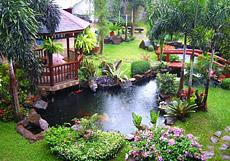 Huntington Beach Koi Pond