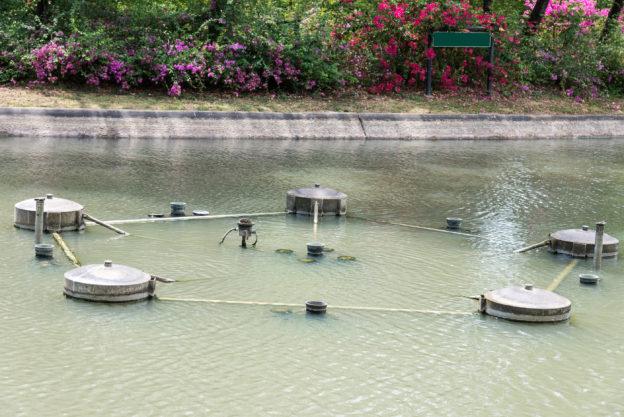 OC Pond fountain repair Irvine